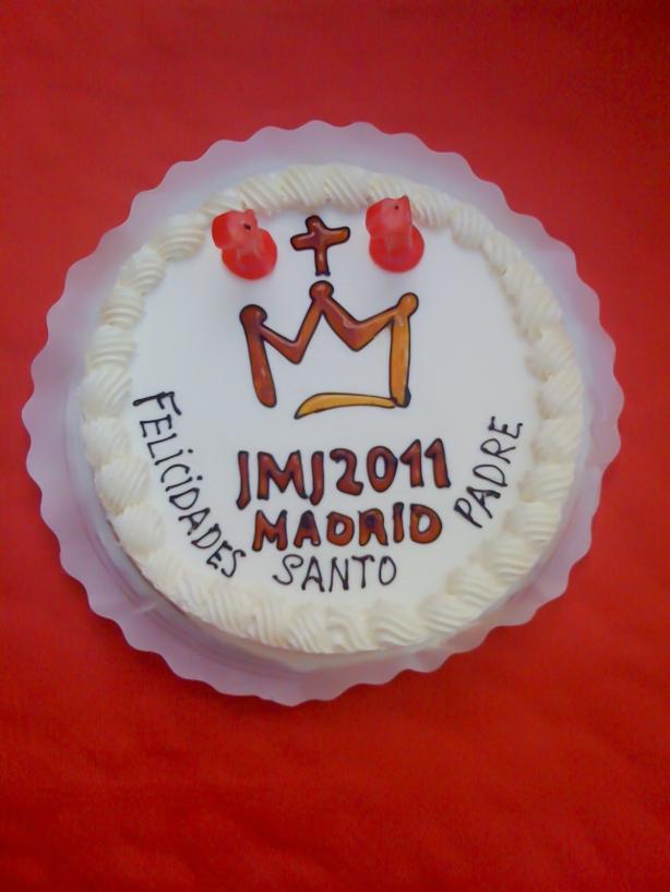 Narodeninová torta pre Svätého Otca Benedikta XVI.