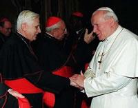 Ján Pavol II. a Benedikt XVI.