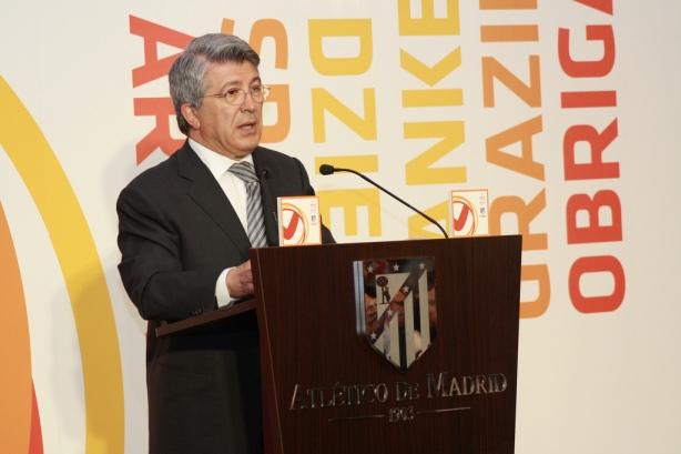 Enrique Cerezo, president futbalového klubu Atlético Madrid, považuje túto spoluprácu za výnimočnú príležitosť.